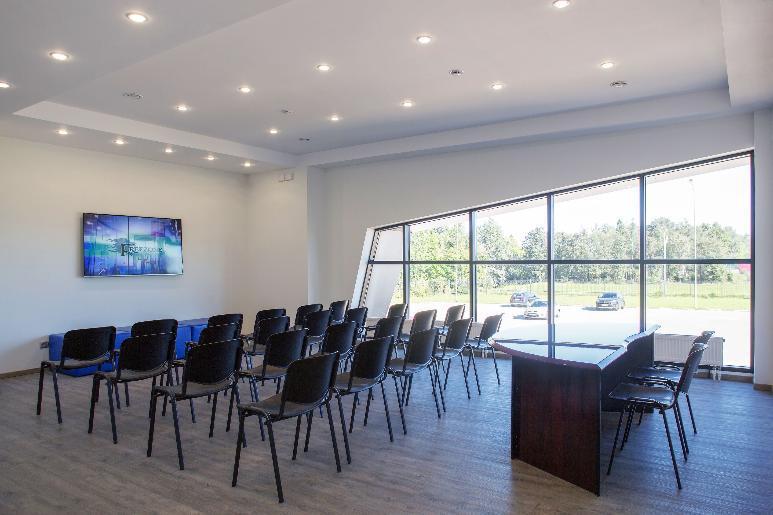 Специальный зал для тренингов в парке Freezone