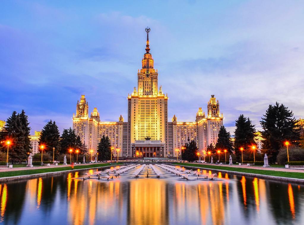 достопримечательности Москвы - Воробьевы горы